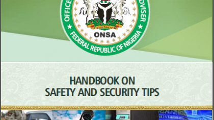 HANDBOOK FOR SAFETY